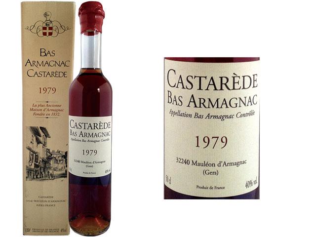BAS ARMAGNAC CASTAREDE 1979