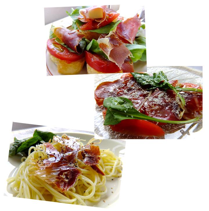 パレタセラーナ料理イメージ