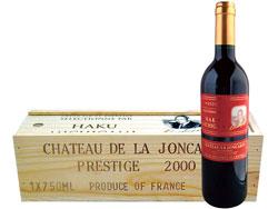 シャトー・ラ・ジョンカード赤ラベル2000年
