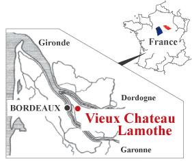 ヴィニョーブル・ラトゥース地図