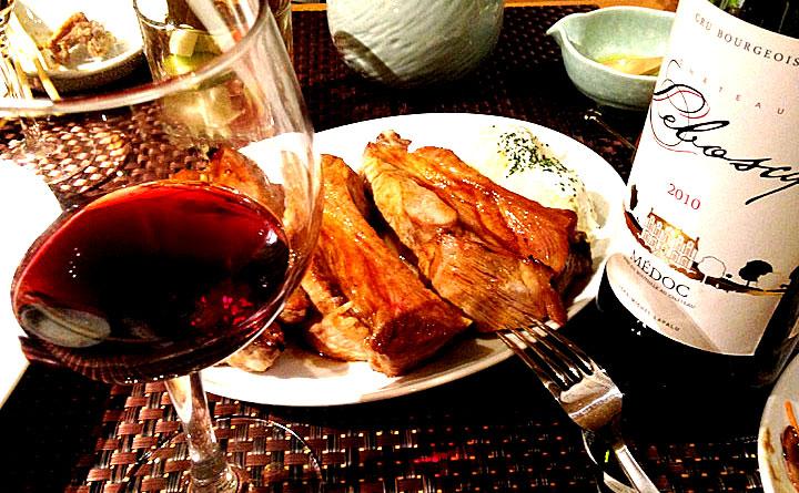 赤ワイン シャトー・ルボスク