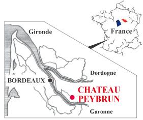 ペイブラン 地図