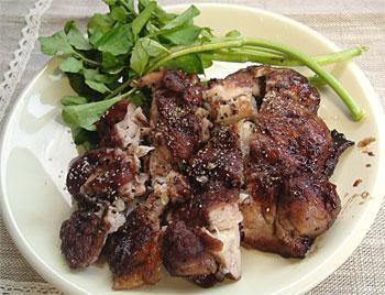 鶏肉のカントゥルー照り焼き