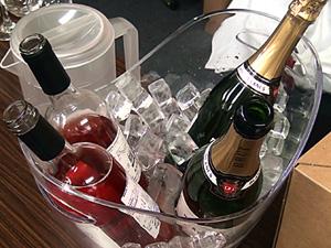 当日ワインと料理をご紹介