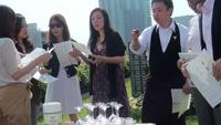 ワイン会の様子