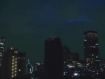 会場からの夜景