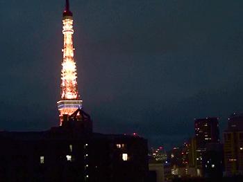 東京タワーがすぐ傍!