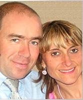 リオネル氏と奥様カリーヌ氏