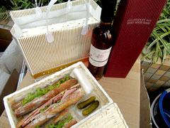 特製サンドイッチ&ロゼセット!