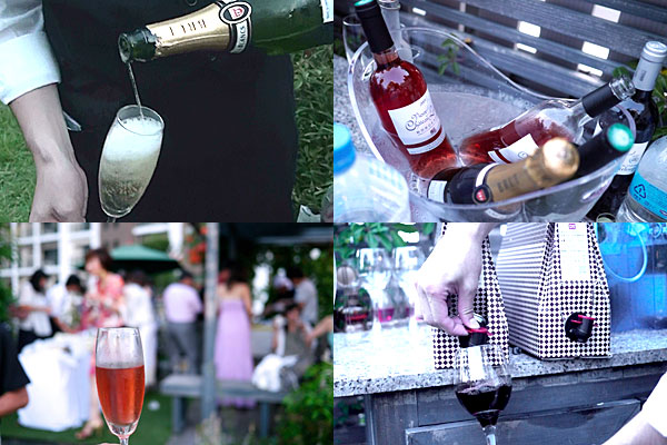 高品質ワイン飲み放題!