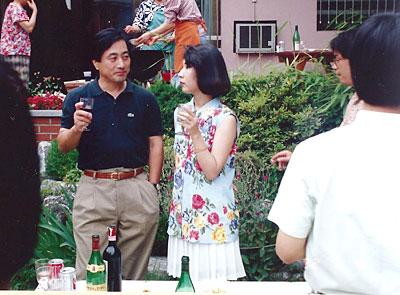 韓国の若い人たちとの懇談