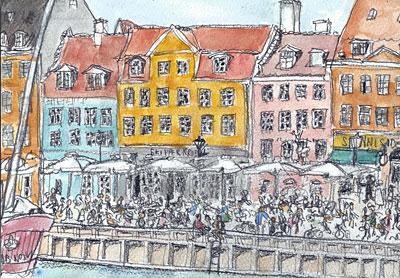 Nyhavn, Copenhagen (2011.8.21)
