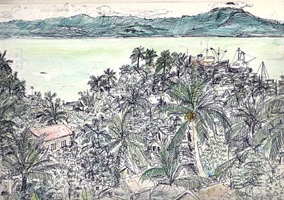 フィリピン・Ormoc 風景(1980.10.22〜23.)