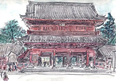 芝増上寺・三縁山 ( 1995.8.6.朝 )