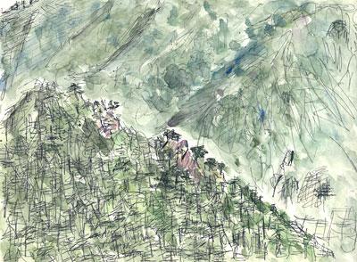 韓国雪嶽山(ソラクサン)風景