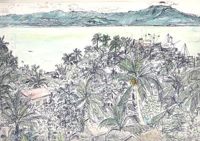 フィリピン・オルモック風景