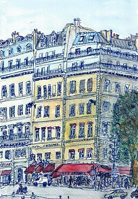 カフェ・マドレーヌ(パリ)