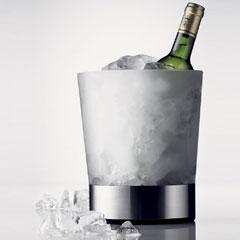 氷水をいれたアイスクーラー