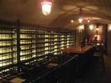 地下室のワインセラー