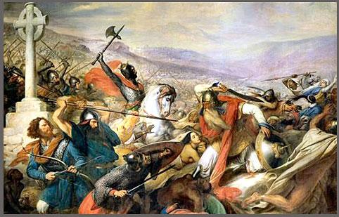 ドラクロア 「ポアチエの戦い」