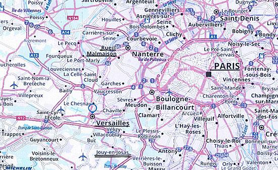 ジュイ・アン・ジョザスの地図