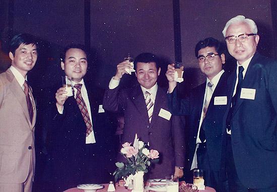 日本電子時代の同僚・上司